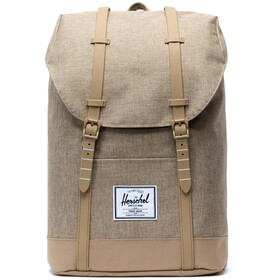Herschel Retreat Selkäreppu 19,5l, kelp crosshatch/kelp